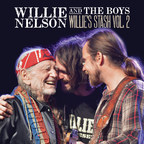 Legacy Recordings Set to Release Willie Nelson and the Boys (Willie's Stash, Vol. 2) on Friday, October 20