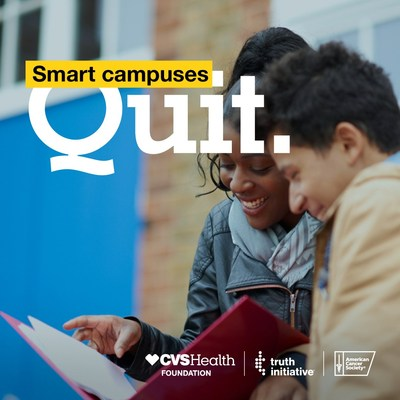 CVS Health Foundation, American Cancer Society and Truth Initiative Team Up to Help Reduce Smoking on College Campuses