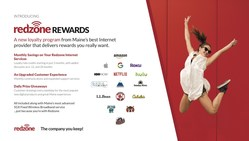 """Redzone Wireless Customer Loyalty Program Debuts this Month offering Broadband Customers Great Opportunities to Save & Win with """"Redzone REWARDS"""""""