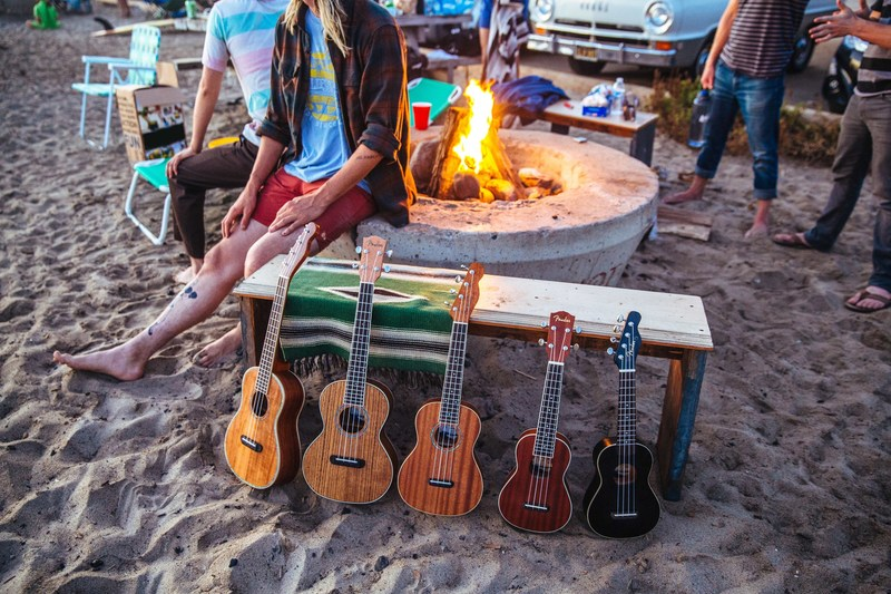 Fender honors Southern California roots with new California Coast Series Ukuleles, named after the region's iconic beaches. Photo credit: Fender