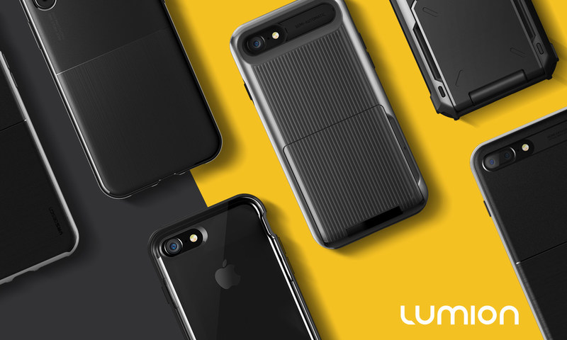 Lumion iPhone 8 and iPhone 8 Plus cases protect against daily drops in styles made for everyone