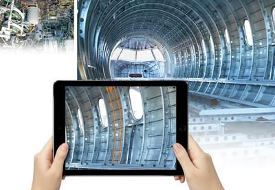 Visual Inspect AR é uma solução móvel econômica para agilizar tarefas de inspeção e documentação.