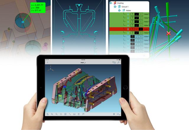 Basado en funciones inteligentes, Visual Inspect es el modo más rápido para comparar detalles de interés contra sus datos 3D.