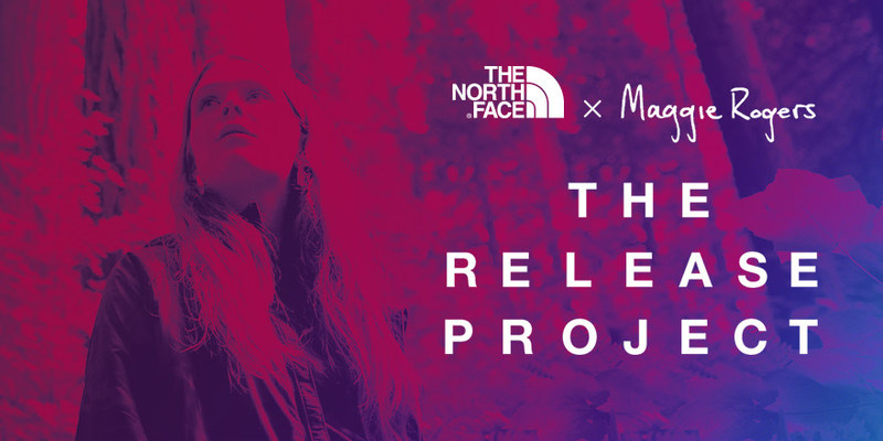 """The North Face and Maggie Rogers teamed up to share her new outdoors-inspired track """"Split Stones"""" exclusively through an interactive digital experience"""