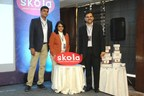 Co-founders unveiling the brand Skola Toys (PRNewsfoto/Skola Toys Private Limited)