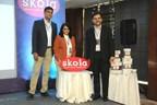 Co-founders unveiling the brand Skola Toys (PRNewsfoto/Skola Toys Private Limited)
