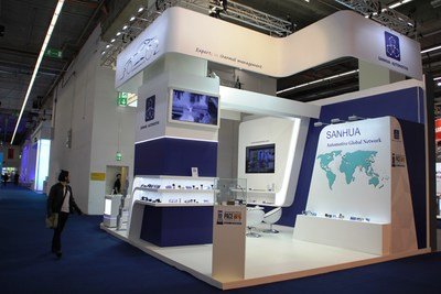 SANHUA Automotive booth