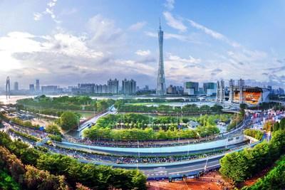 Guangzhou, a bird's eye view