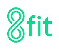 8fit: building healthy habits for life. (PRNewsfoto/8fit)