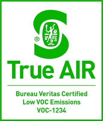 New Bureau Veritas True AIR Certification for VOCs in Products (PRNewsfoto/Bureau Veritas Consumer Products)