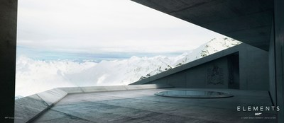 007 Elements Solden Plaza Render - Featuring James Bond's Family Crest (PRNewsfoto/007 ELEMENTS)