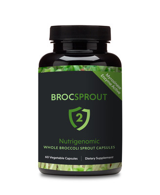 BROC SPROUT 2 is a 100% natural, nutraceutical-grade Whole Broccoli Sprout Capsule that quickly and easily delivers Sulforaphane to the body's cells. Sulforaphane is the dynamic, phytochemical molecule, widely considered by the scientific community to be a critical trigger of the human cell's defense system, empowering the body to combat disease-causing elements that affect lives on a daily basis.