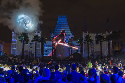 Star Wars: Galactic Nights, a special event at Disney's Hollywood Studios, returns Dec. 16, 2017 for one evening only with out-of-this-world entertainment, character encounters and more. Guests will be treated Hollywood-style to a red carpet arrival, iconic attractions with little to no wait time, amazing fireworks and projections, and experts sharing details about the Star Wars expansion coming to Disney's Hollywood Studios. (David Roark, photographer)