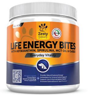 Zesty Paws Life Energy Bites First Pet Supplement to Receive NAXA Verified Seal