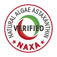 The NAXA Verification Program (NAVP) tests products to verify that they contain natural algae astaxanthin derived from Haematococcus pluvialis algae, which has been scientifically proven to have health benefits for humans and animals