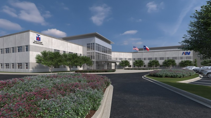 AIV and Gulf Coast Modification will consolidate their operations within a new, 320,000-square foot facility in northwest Houston, scheduled for completion by late 2018.