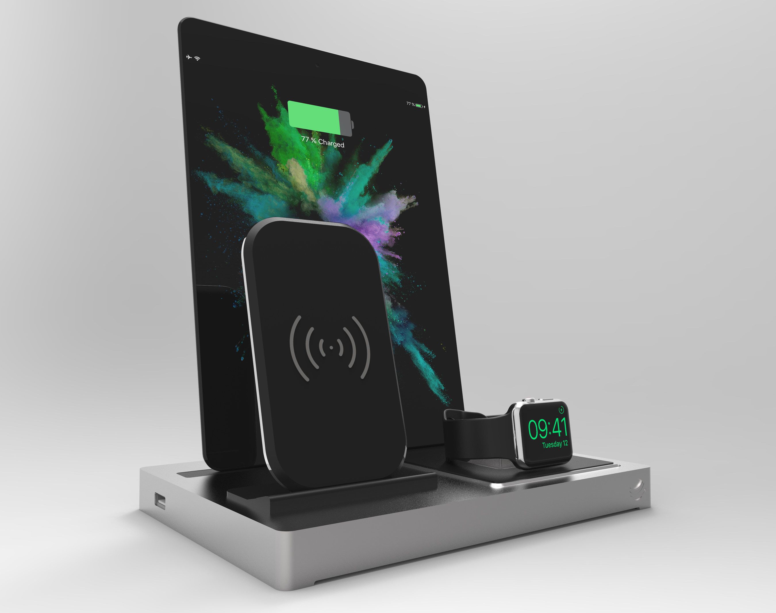 Enblue Introduces Evolus 3 Qi The First Multi Docking Station With Qi Charging For Iphone 8 And Iphone X
