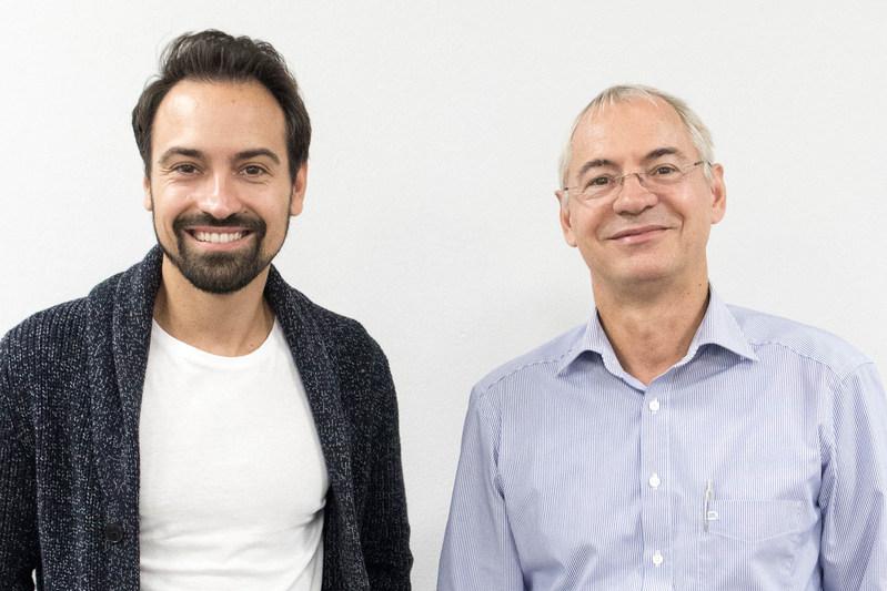 Ranorex founders Gabor Herget (l) and Jenö Herget (r).
