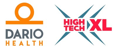 DarioHealth Corp. and HighTechXL Logo (PRNewsfoto/DarioHealth Corp. and HighTechXL)