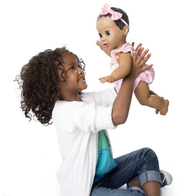 Spin Master announces Luvabella and Luvabeau, the most adorable interactive baby dolls ever. (CNW Group/Spin Master)