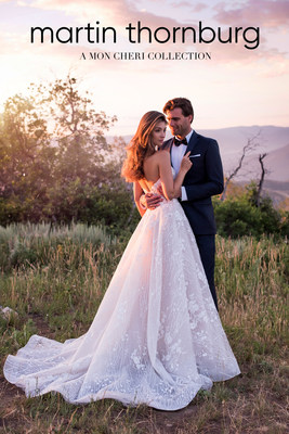 Martin Thornburg- A Mon Cheri Collection- set to unveil Spring 2018 line Sept. 24-27 at the National Bridal Market in Chicago and Oct. 7-9 at The Knot Couture Show in New York City.