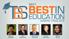 TheBestSchools.org Announces Finalists for $20,000 2017 Educator Excellence Award