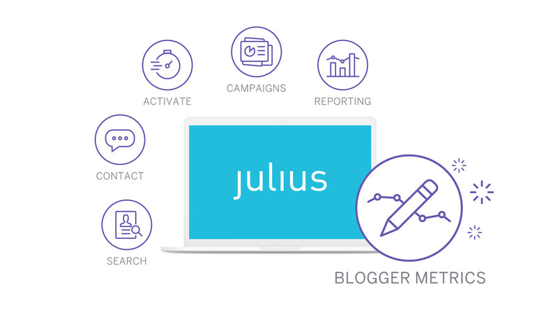 Julius is your complete end-to-end Influencer Marketing solution allowing you to search, contact, activate and report on your campaign.