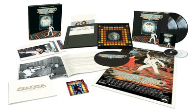 In 1977, the Bee Gees-led 'Saturday Night Fever (The Original Movie Soundtrack)' spawned four No. 1 singles and won the GRAMMY Award® for Album of the Year. On November 17, Capitol/UMe will release the soundtrack's 40th Anniversary Edition in expanded configurations including a box set that pairs the remastered album and remixes with the film's 40th Anniversary Director's Cut.