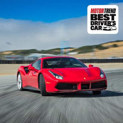 MOTOR TREND Names Ferrari 488 GTB 2017 Best Driver's Car
