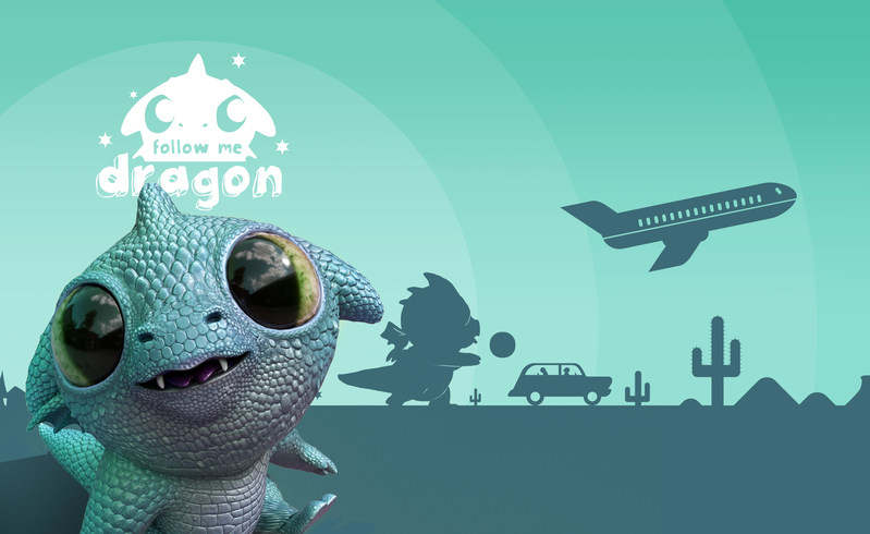 Follow Me Dragon from VRC product artwork