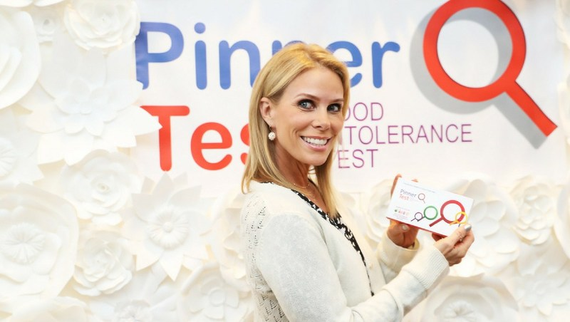 Curb Your Enthusiasm star Cheryl Hines aims to curb her food intolerances with Pinnertest at the Kari Feinstein Style Lounge Thursday, Sept 14 in Los Angeles.