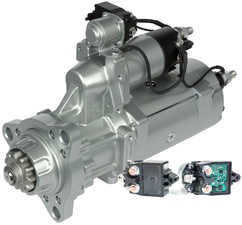 Debuting in the Delco Remy® 39MT™ heavy-duty starter, BorgWarner's new Smart Integrated Magnetic Switch (IMS) protects the starter from six damaging system failures, provides drop-in replacement and offers a more robust warranty than conventional starters.