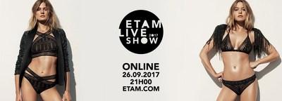 ETAM CELEBRATES ITS TENTH LIVE SHOW AND LAUNCHES ITS FIRST FRENCH LIBERTE FESTIVAL (PRNewsfoto/Etam)