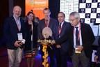Key dignitaries at the lamp lighting ceremony of REI 2017 at Greater Noida (PRNewsfoto/UBM India Pvt. Ltd.)