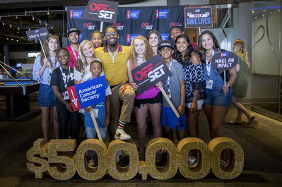 Offset Launches $500K Fundraising Campaign for the American Cancer Society