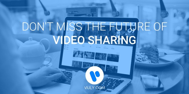 Viuly Announces World's First Decentralized Video Sharing Platform, Pre ICO 1st October 2017