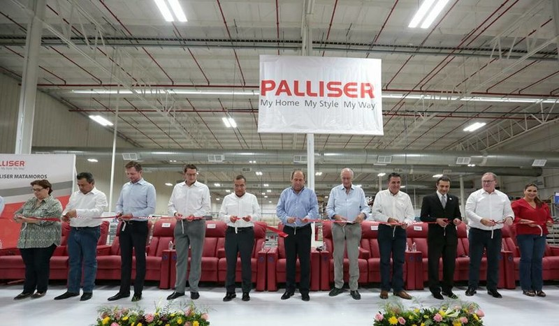 Palliser ribbon cutting for new manufacturing facility