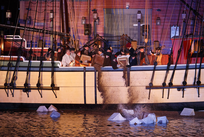 New In 2017: Send Loose Tea To Be Thrown Into Boston Harbor During The 244th Anniversary Of The Boston Tea Party - Annual Reenactment On Dec. 16, 2017