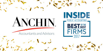 Anchin Named a Best of the Best Firm by INSIDE Public Accounting, 2017