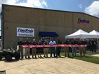 Representatives from FleetPride's corporate team join branch management to officially open the company's newest branch in New Orleans on September 14, 2017.