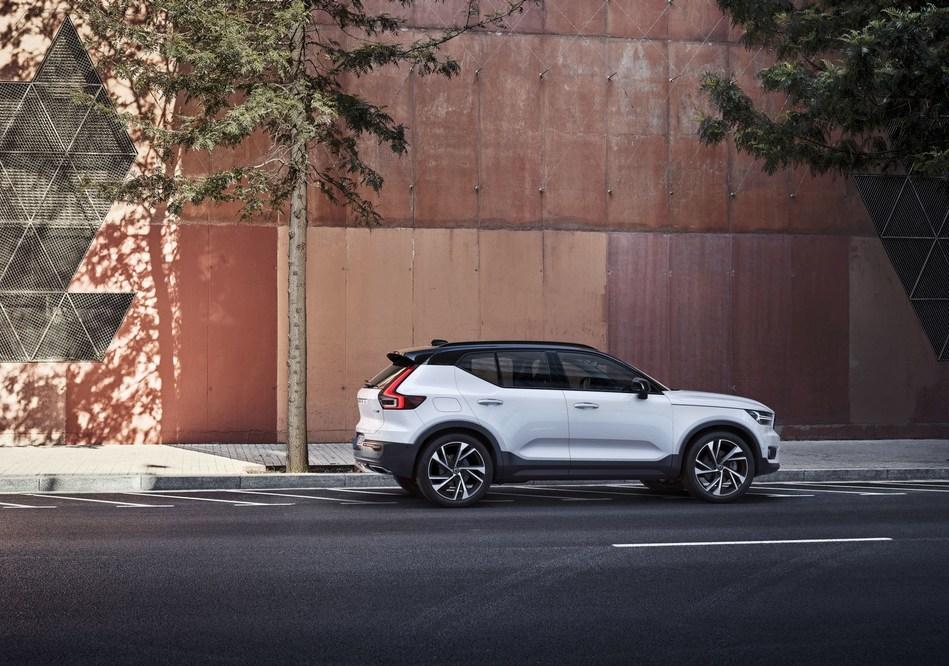The new Volvo XC40 (PRNewsfoto/Volvo Car Group)