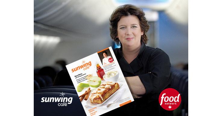 Sunwing Lynn Crawford Food Menu