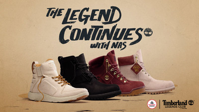 Foot Locker, Timberland and Nas introduce Fall 2017 Legends Collection.