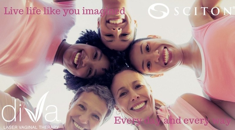 Live life like you imaged, every day and every way, with diVa laser vaginal therapy