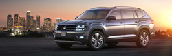 2018 Volkswagen Atlas with city background
