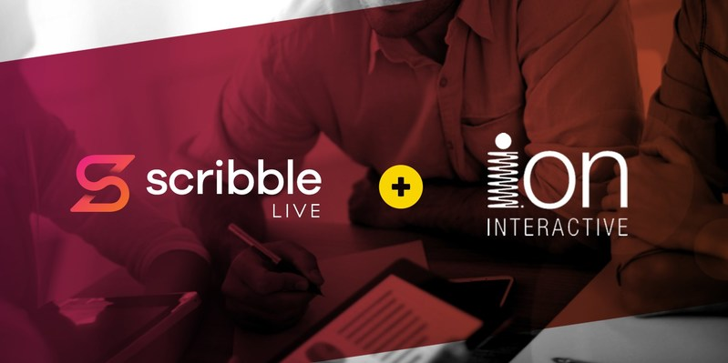 ScribbleLive acquires ion interactive (CNW Group/ScribbleLive)