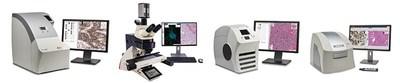 Celebrating 2,000 global installations, Leica Biosystems offers a dynamic range of high performance digital pathology systems for brightfield and fluorescent whole slide imaging.