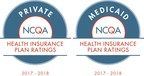 Tufts Health Plan receives the highest rating possible - '5' out of '5' - from the National Committee for Quality Assurance for its private HMO and PPO plans*