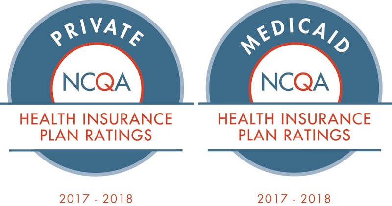 NCQA Private and Medicaid Health Insurance Ratings 2017-2018