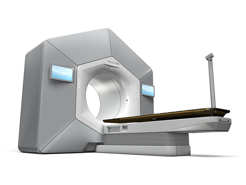 Varian's Halcyon™ system, is its new platform for cancer treatment. Halcyon is well suited to handle the majority of cancer patients, offering advanced treatments for prostate, breast, head & neck, and many other forms of cancer